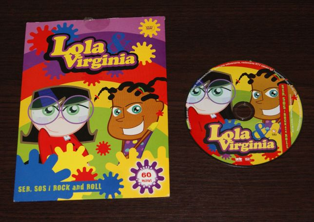 Lola i Virginia - Sos, ser i ROCK and ROLL VCD