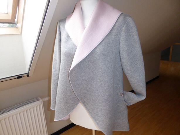 Bluza szaro-różowa vaterfall UNI