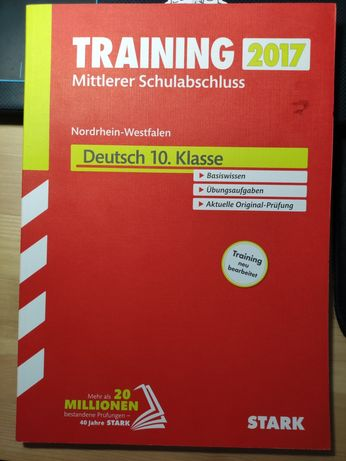 Training Mittlerer Schulabschluss Deutsch 10.Klasse