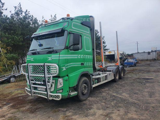 Volvo FH 16 do drewna drzewa lasu 6x4