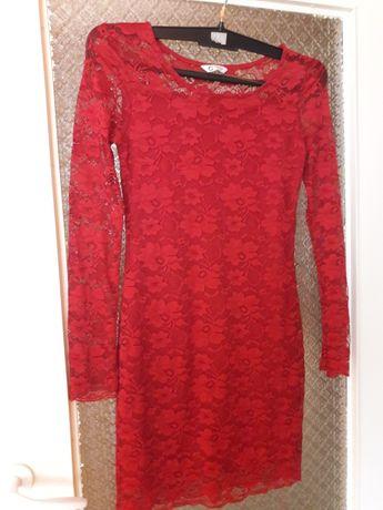 Nowa sukienka koronkowa dla dziewczynki (146-152)