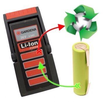 Regenerację,naprawa baterii do elektronarzędzi,odkurzaczy,Rowerów