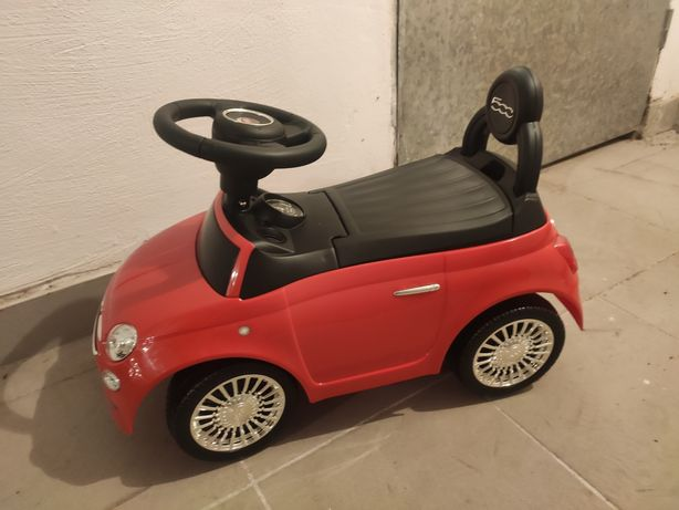 Samochodzik pchacz FIAT 500