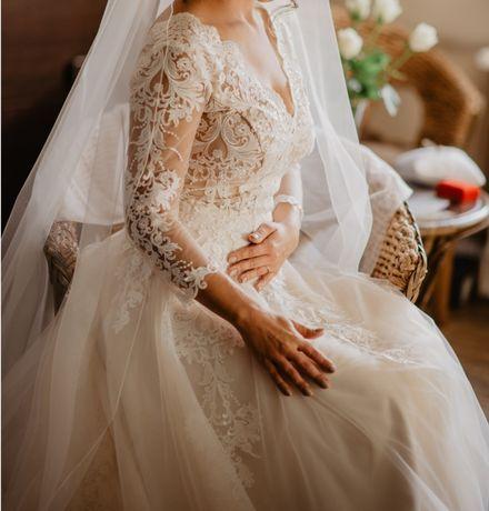 Suknia ślubna - wg własnego pomysłu