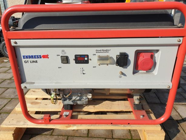 Agregat pradotworczy, generator pradu Endress ESE606
