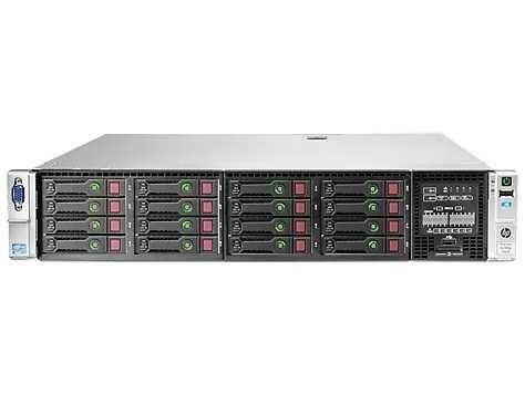 Servidor DL380p G8  2x CPU 12 cores 48 threads 128GB RAM 8x SAS 900gb