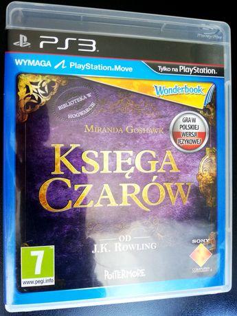 WONDERBOOK Księga Czarów PS3 Polska Dystrybucja PlayStation 3 WYSYŁAM