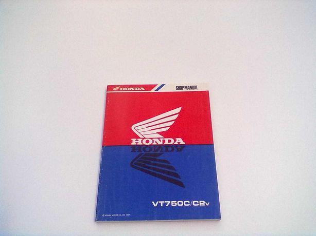 Manual Técnico Oficial Honda Shadow VT 750 C-C2v
