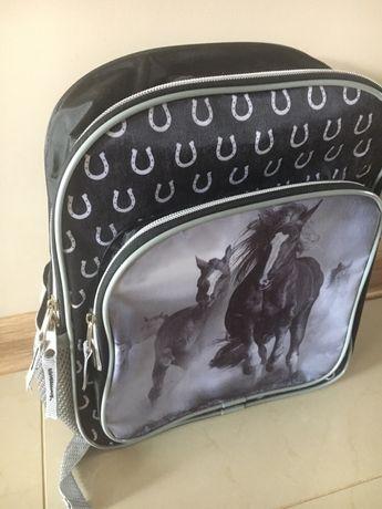 Plecak plecaczek koń koniki