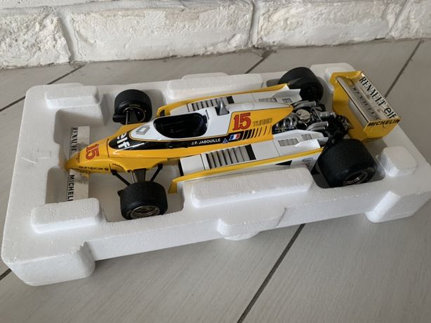 Exoto,autoart F1 Renault RE20 turbo 1:18