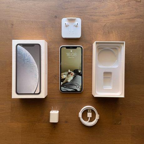 iPhone XR Branco/Silver 64Gb na caixa completo