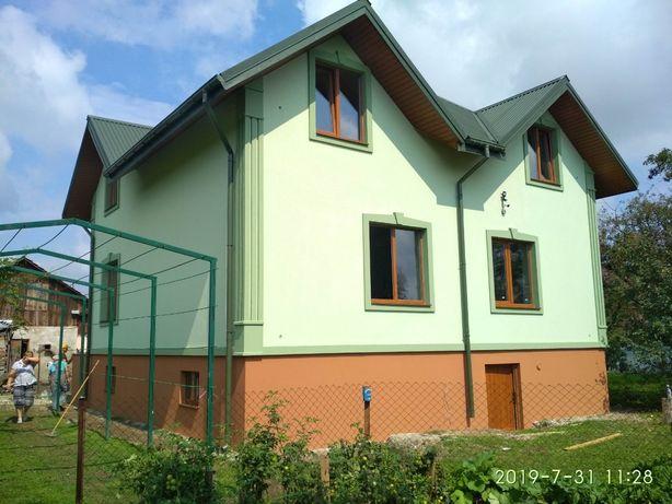 Утеплення фасадів пінопластом та мінеральною ватою.