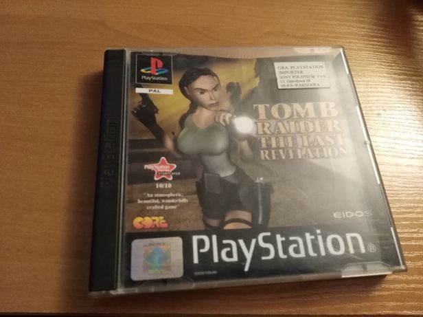 Lara Croft: The Last Revelation (PS1)