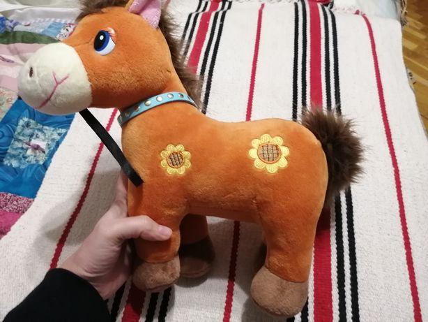 Мягкая музыкальная игрушка лошадка, щенячий патруль