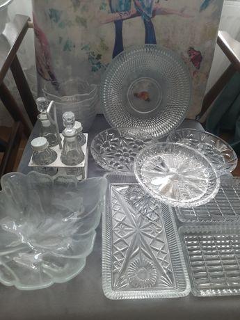 Kryształy szkło PRL