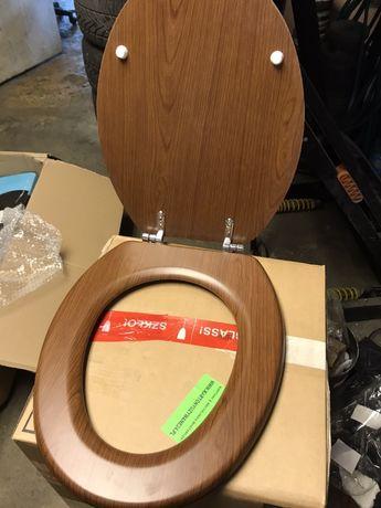 deska sedesowa braz kolor orzech brazowa ala drewno