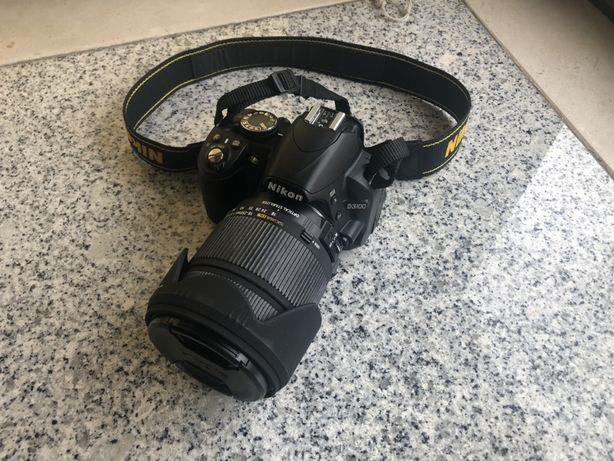 Nikon 3100 só corpo ou com lente Sigma