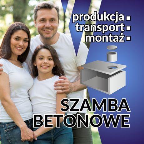 Szambo betonowe Zbiornik betonowy Deszczówka Piwniczka > PRODUCENT