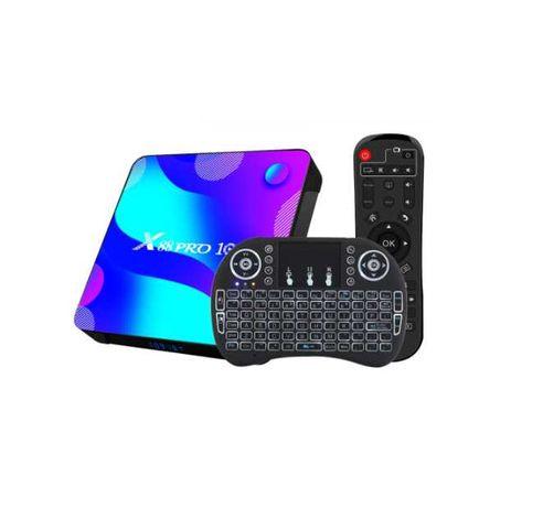 Smart TV BOX X88 RRO /4GB RAM /ANDROID/ netflix /4k + pilot QWERTY