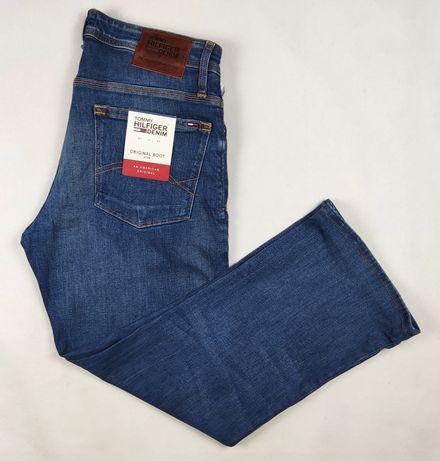 Tommy Hilfiger denim męskie spodnie jeansowe w rozmiarze W34 L34