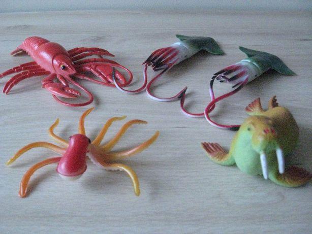 Figurki MORSKIE zwierzęta i RAK