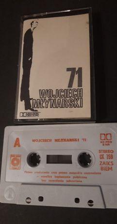 Wojciech Młynarski 71, KASETA MAGNETOFONOWA 1989 Muza