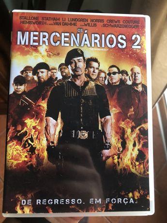 Dois filmes de Os Mercenarios - The Expendables