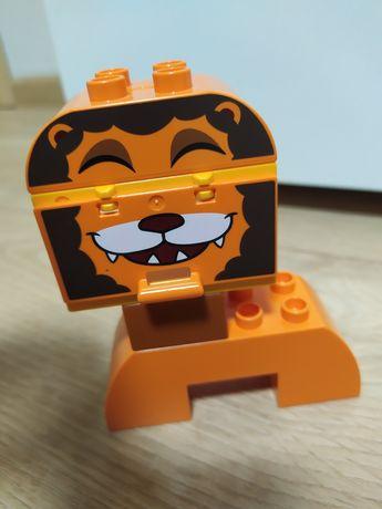 Лего дупло первые животные. Лев