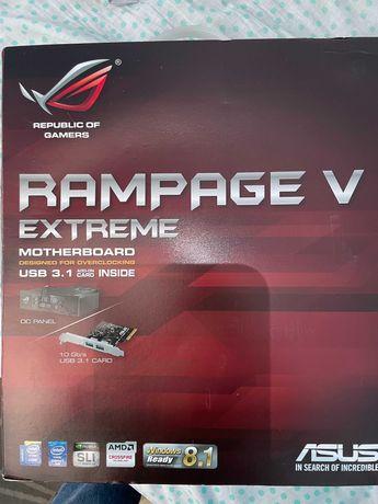 Motherboard ASUS Rampage V Extreme + CPU Intel i7-5820k 3.3GHZ