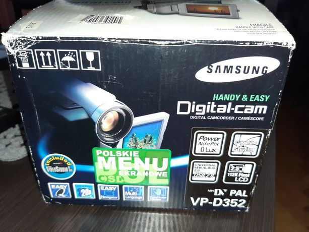Kamera - Samsung Digital vp D352 PAL