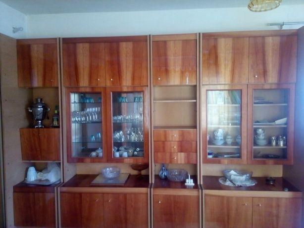 Меблева стінка + шкаф + тумбочка