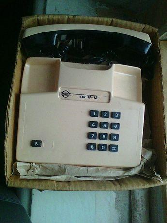 телефон новый в упаковке VEF TA-12 стационарный кнопочный 500 руб