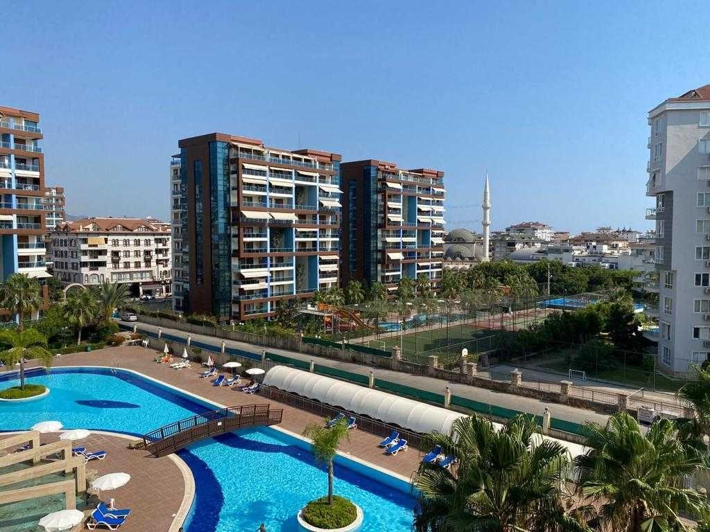 Квартира в Аланье, Турция. Меблированная квартира 1+1 в комплексе 5*