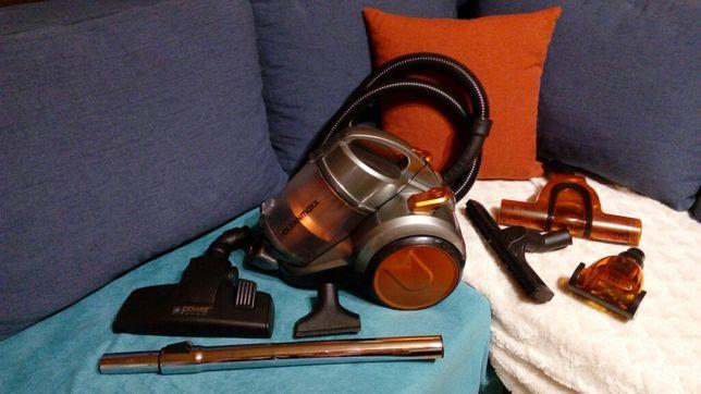 Odkurzacz cyklonowy bezworkowy cleanmaxx zgrabny i lekki