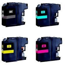 4 Tinteiros Brother Compatível LC227/LC225 XL Portes grátis