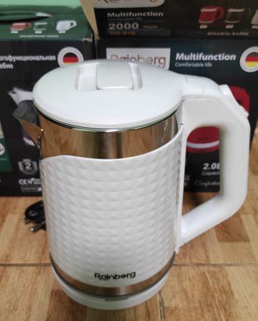 Металевий електро чайник