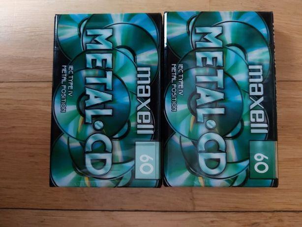 Maxell Metal CD 60, 2 szt, nowe