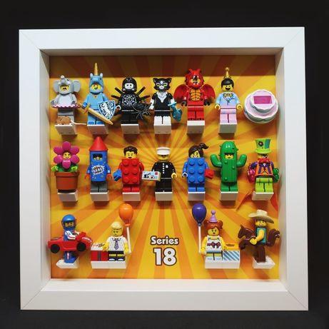 LEGO seria 18 IMPREZA KOMPLET z policjantem! 71021