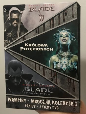DVD Blade Mroczna Trójca