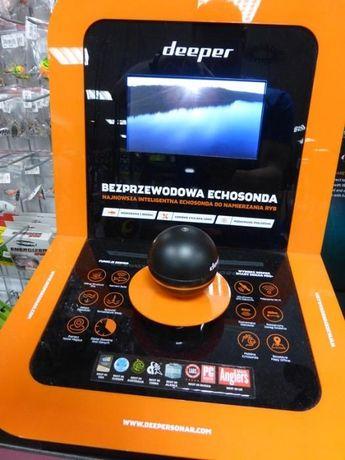 Echosonda bezprzewodowa DEEPER PRO PLUS z GPS !!