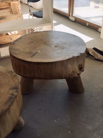 stół z drewna do kawy drewniany stolik kawowy wood orzech topola