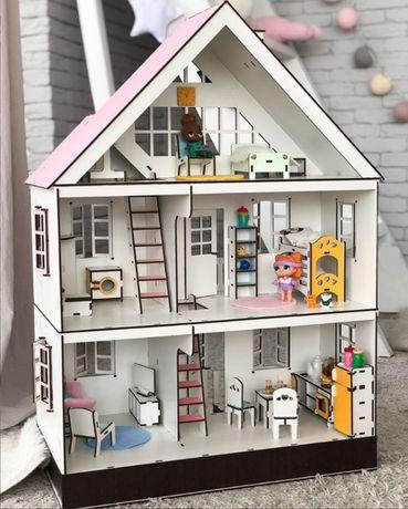 Кукольный домик LOL, Таунхаус лол с аксессуарами / игровой набор Лол