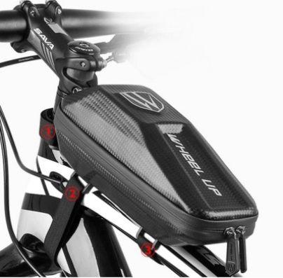 Bolsa impermeável para bicicleta | grande capacidade