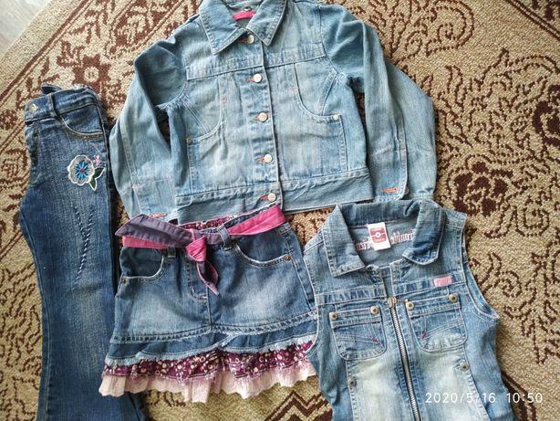 Джинсовая одежда для детей.