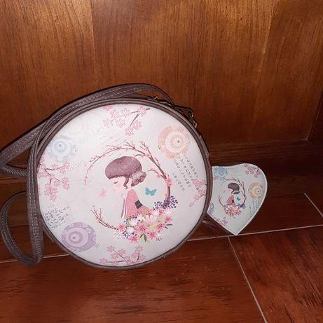Conjunto de mala e carteira de criança