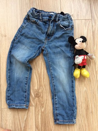 Spodnie reserved hm jeansy