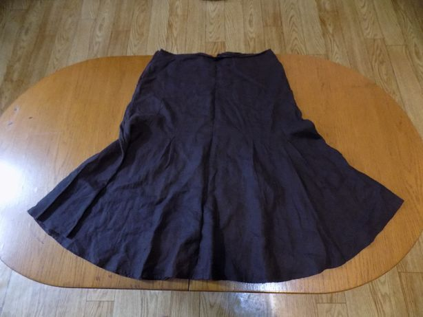 Spódnica brązowa