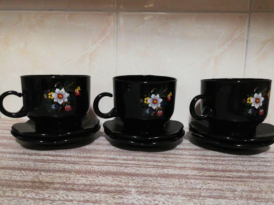 Чашка кофейная с блюдцем Киев - изображение 1