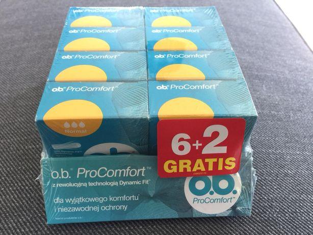 Tampony OB mini normal pro comfort tacka 8 opakowań 64 tampony!!