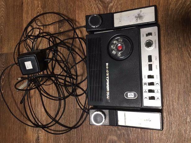 Игровая приставка Экси Видео 01 Электроника 1980г.в.